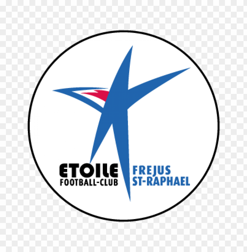 free PNG etoile fc frejus saint-raphael (2009) vector logo PNG images transparent