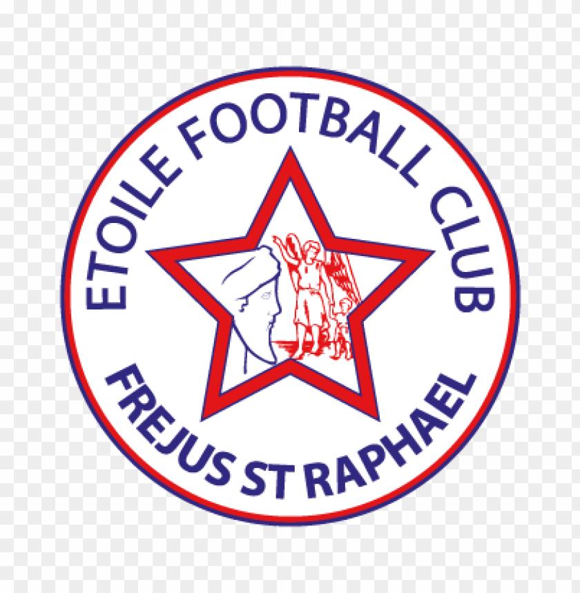 free PNG etoile fc frejus saint-raphael vector logo PNG images transparent