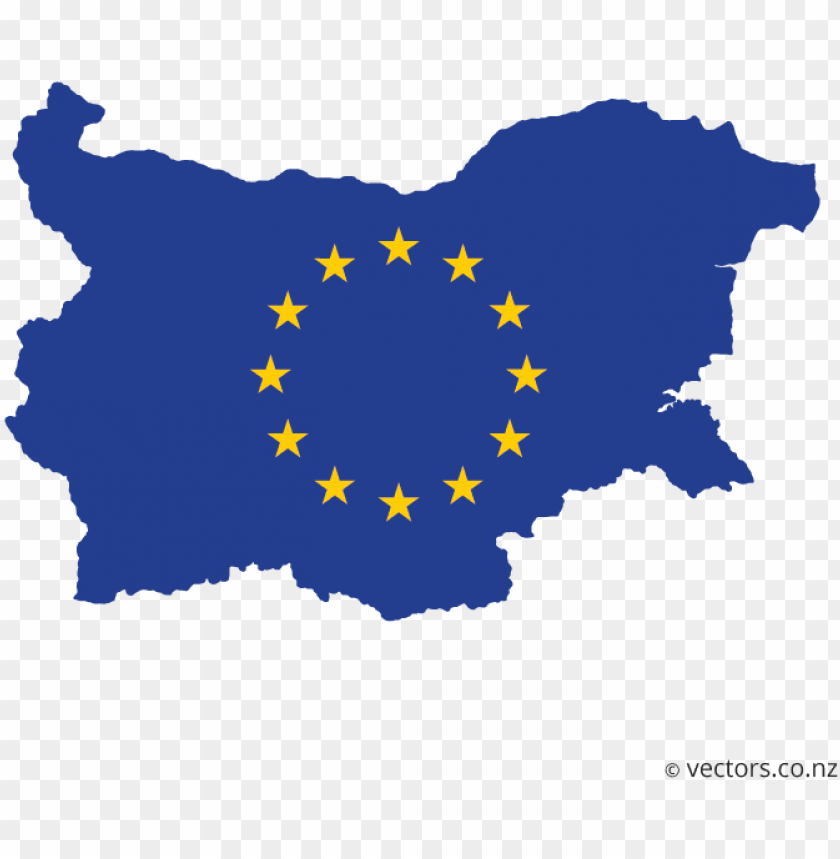 free PNG eu flag vector map of bulgaria - bulgaria map vector PNG image with transparent background PNG images transparent