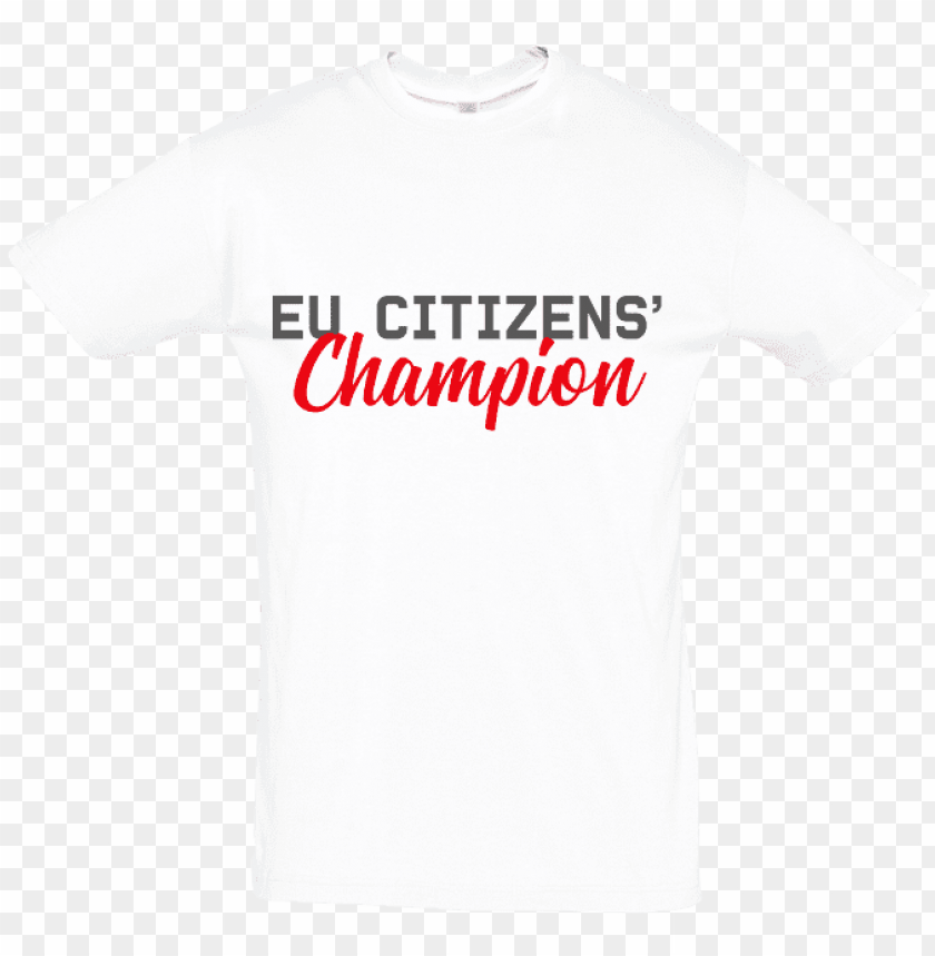 free PNG eucitizens champion - unisex tee - active shirt PNG image with transparent background PNG images transparent