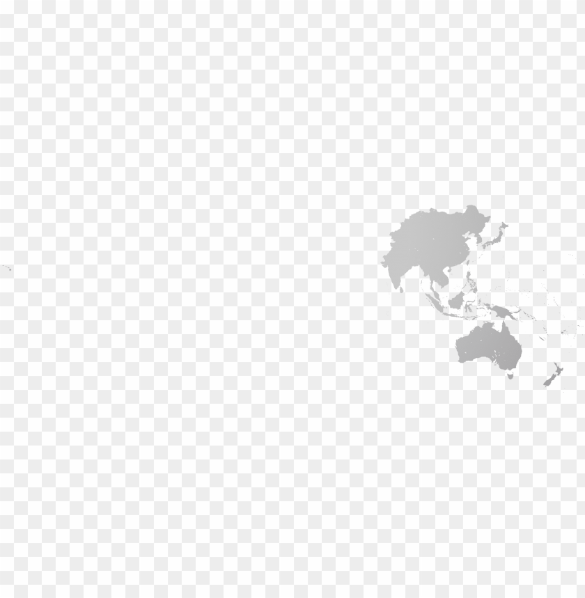 europe and asia map black and white - asia pacific map vector PNG image with transparent background@toppng.com