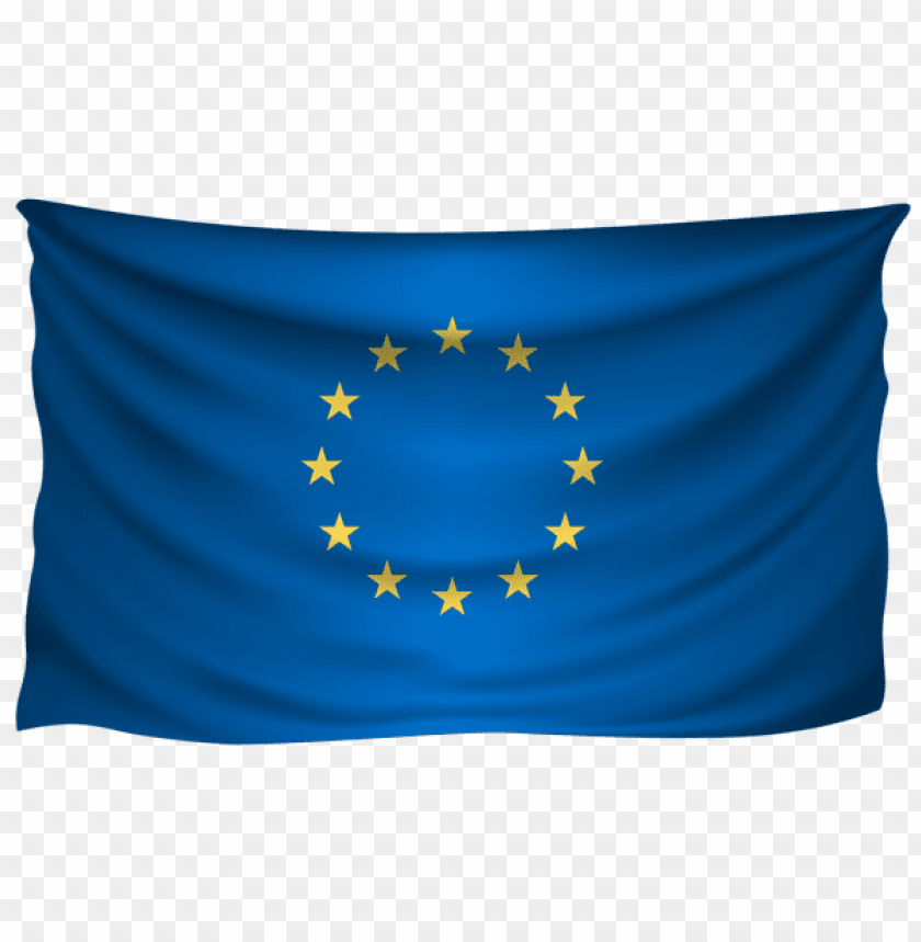 free PNG Download european union wrinkled flag clipart png photo   PNG images transparent