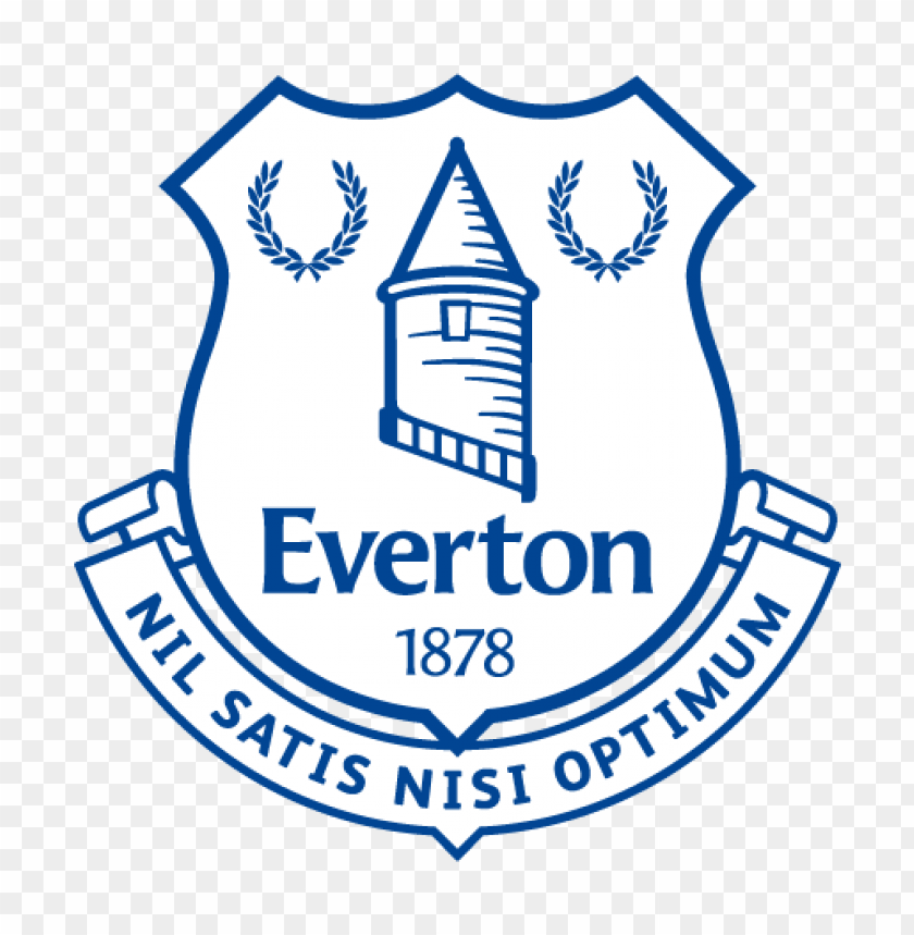 free PNG everton football club logo vector PNG images transparent