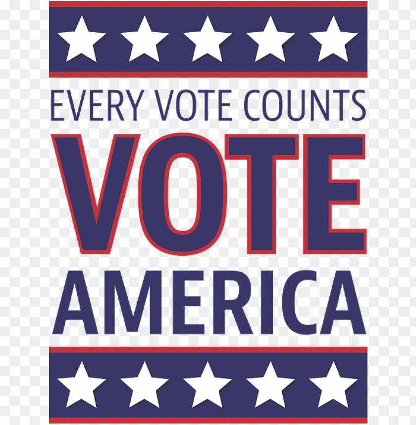 free PNG every vote counts america PNG image with transparent background PNG images transparent