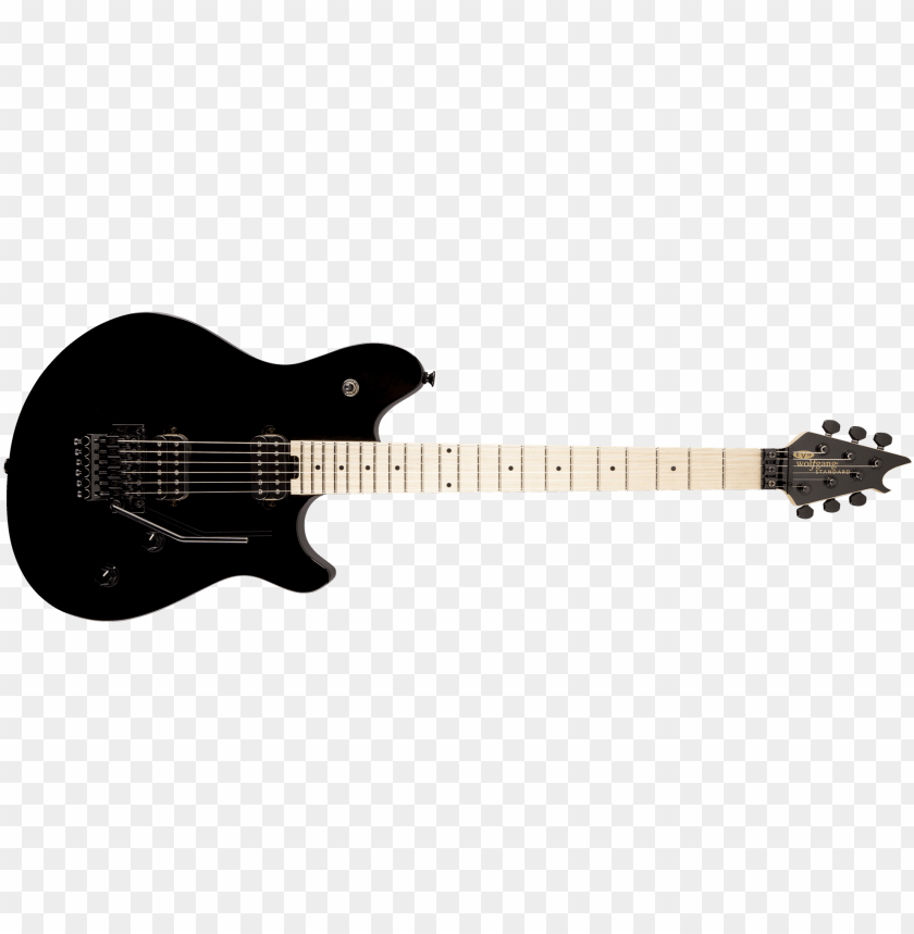 free PNG evh wolfgang standard hh floyd rose maple neck electric - guitar evh wolfgang special PNG image with transparent background PNG images transparent