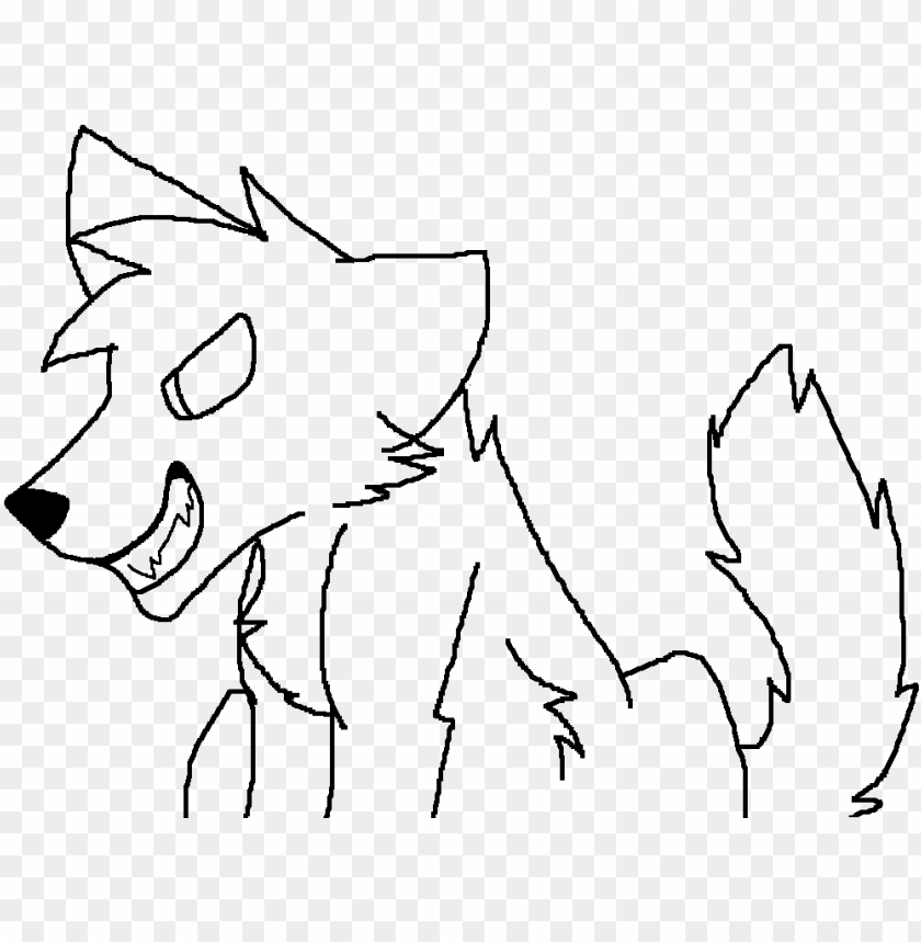 free PNG evil wolf lineart by zoey - evil wolf lineart PNG image with transparent background PNG images transparent