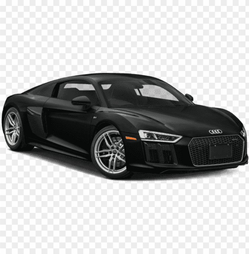 free PNG ew 2018 audi r8 coupe v10 - audi r8 white 2018 PNG image with transparent background PNG images transparent
