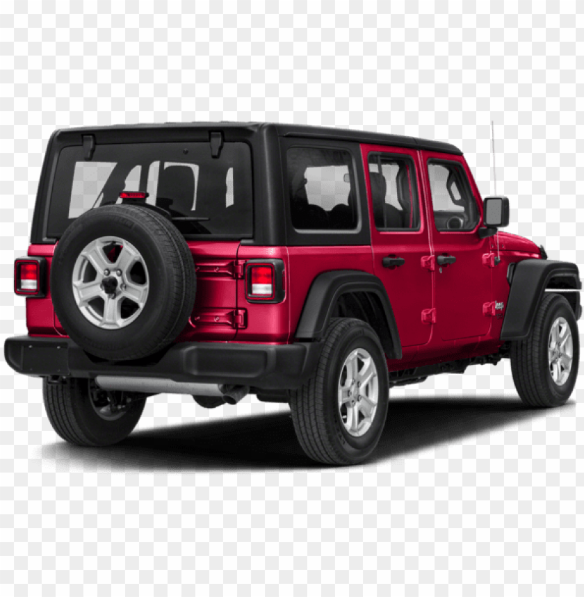 free PNG ew 2018 jeep wrangler sahara - jeep wrangler unlimited sport PNG image with transparent background PNG images transparent