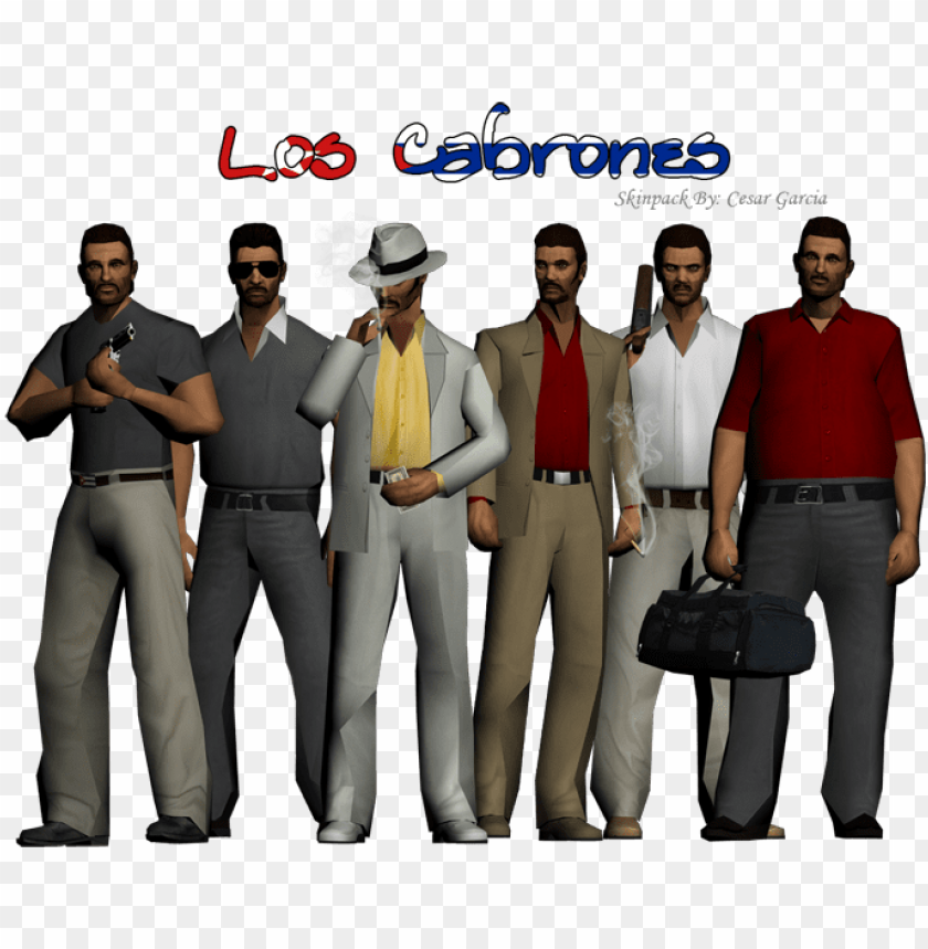 free PNG ew character los cabrones for gta san andreas - gta sa mafia skin mod PNG image with transparent background PNG images transparent