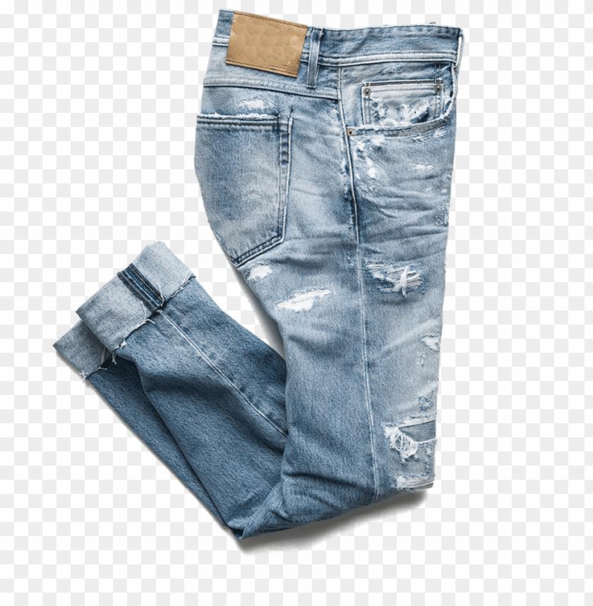 Ew Design Ripped Denim Jeans Pants Men Wholesale Cheap