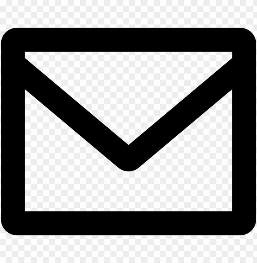 free PNG ew email interface symbol of closed envelope back - icone fa envelope o PNG image with transparent background PNG images transparent