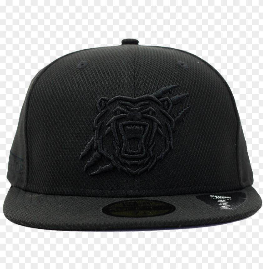 ew era 5950 birmingham bears cap black - ca PNG image with transparent background@toppng.com