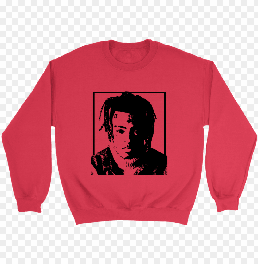 free PNG ew hip hop loudstudio graphic crewneck featuring xxxtentacion - two face t shirt PNG image with transparent background PNG images transparent