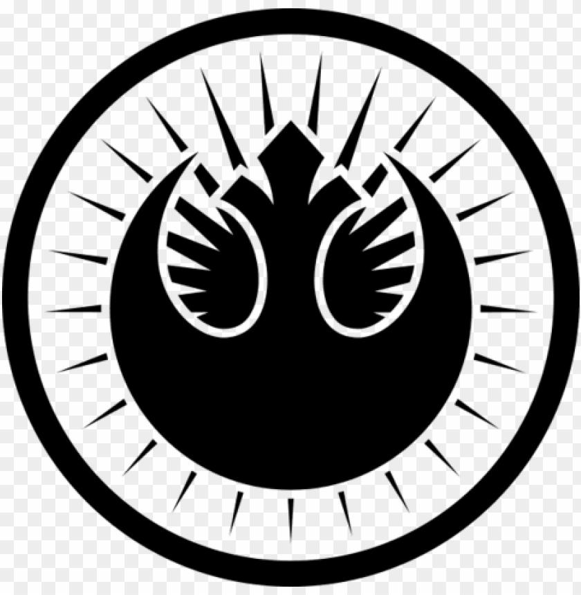 free PNG ew jedi order - star wars new jedi order logo PNG image with transparent background PNG images transparent