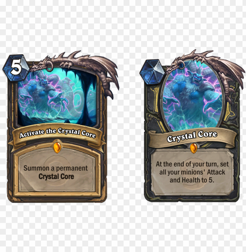 free PNG ew rogue quest crystal core card discussion - hearthstone quest rogue nerf PNG image with transparent background PNG images transparent