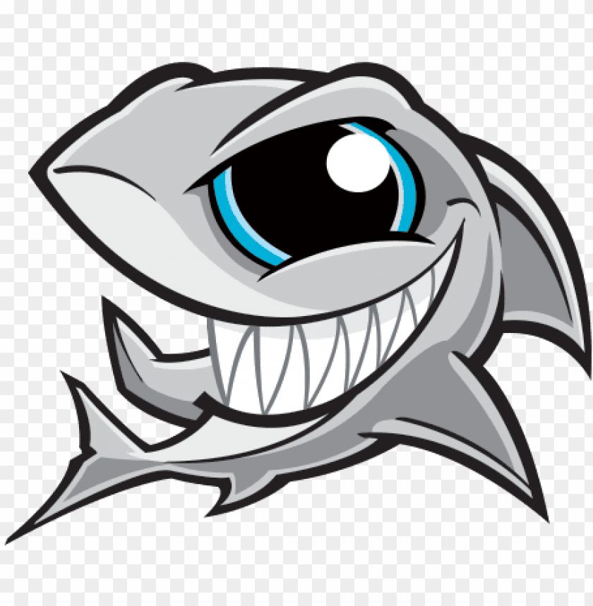 Eye Clipart Shark Angry Shark Cartoon Png Image With Transparent Background Toppng