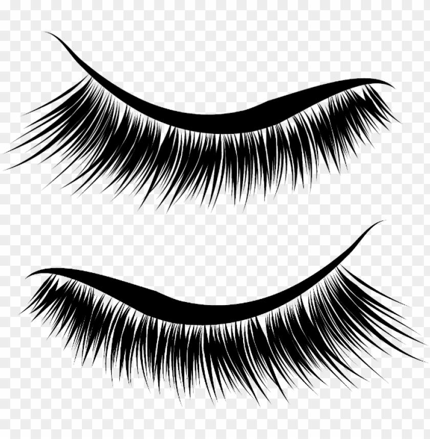 free PNG eyeliner wing eyelashes extension fake eyes eye iris - eyeliner wing transparent PNG image with transparent background PNG images transparent
