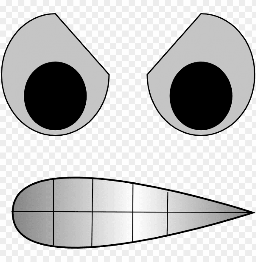 free PNG eyes and mouth png transparent stock - angry eyes and mouth PNG image with transparent background PNG images transparent