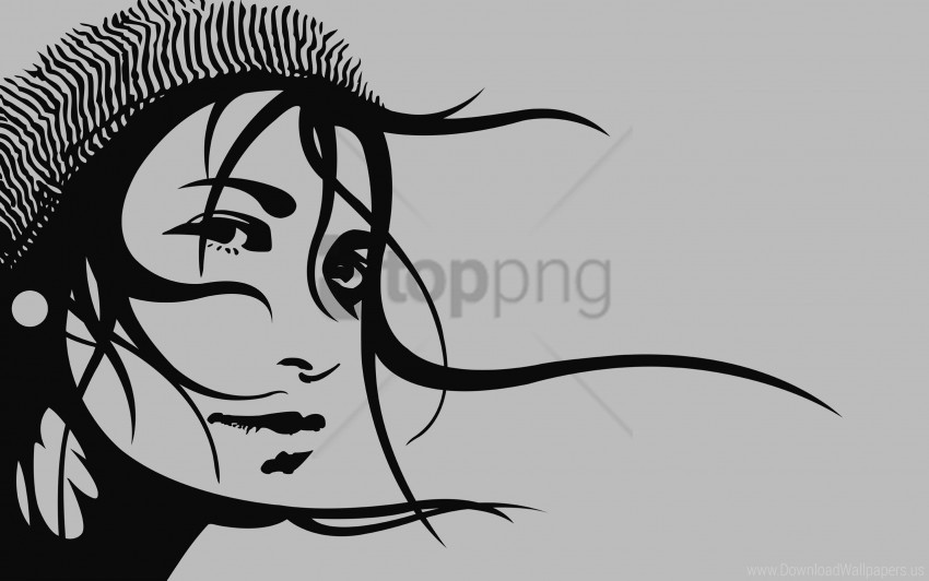 free PNG eyes, girl, hair, hat wallpaper background best stock photos PNG images transparent
