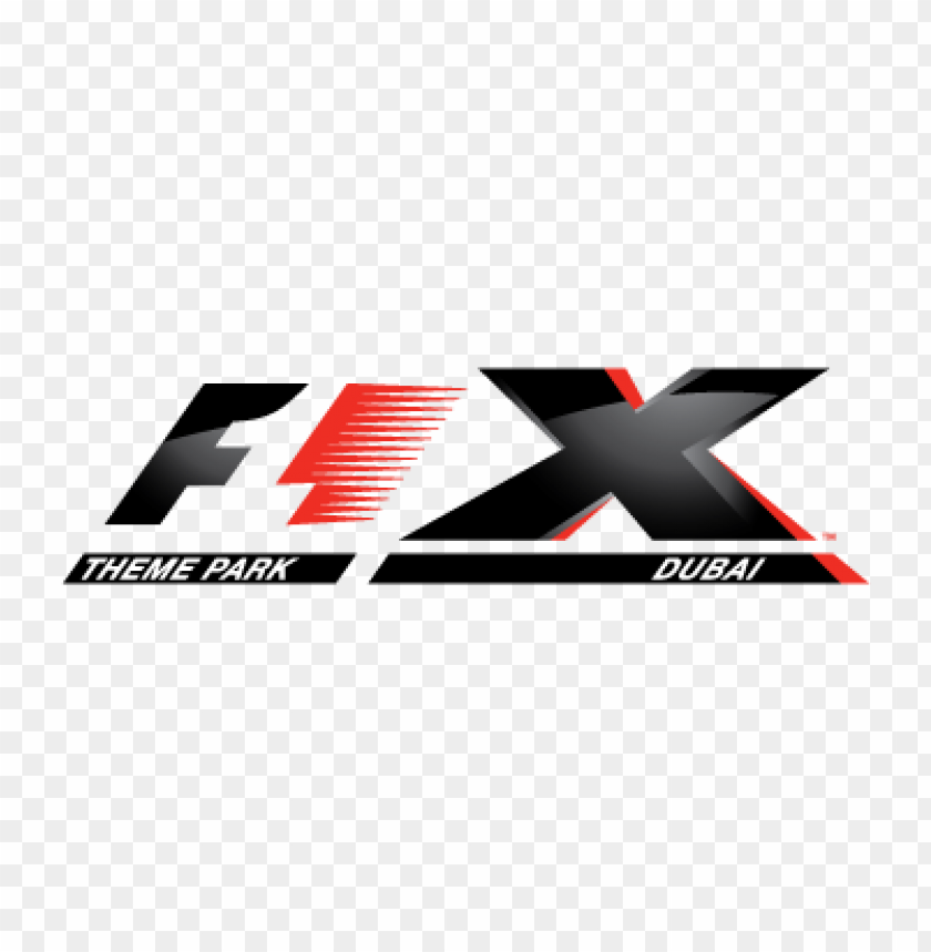 F1 X Theme Park Logo Vector Free Download Toppng