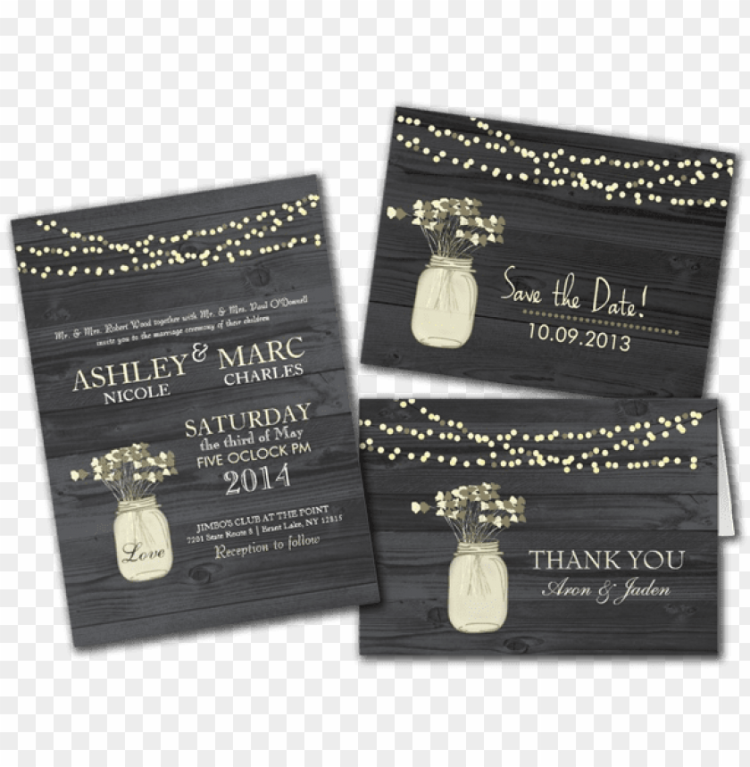 free PNG fabulous mason jar wedding reception invitations in - country mason jar wedding invitations PNG image with transparent background PNG images transparent