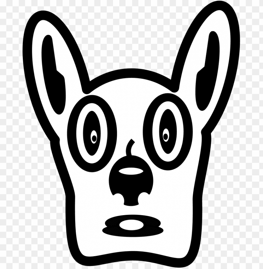 free PNG face, cartoon, dog, draw, pet, animal, shocked - nokia 2690 clip art PNG image with transparent background PNG images transparent