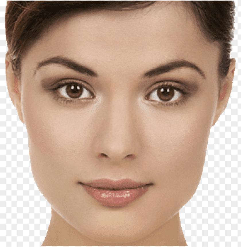 free PNG Download face close up brunette png images background PNG images transparent