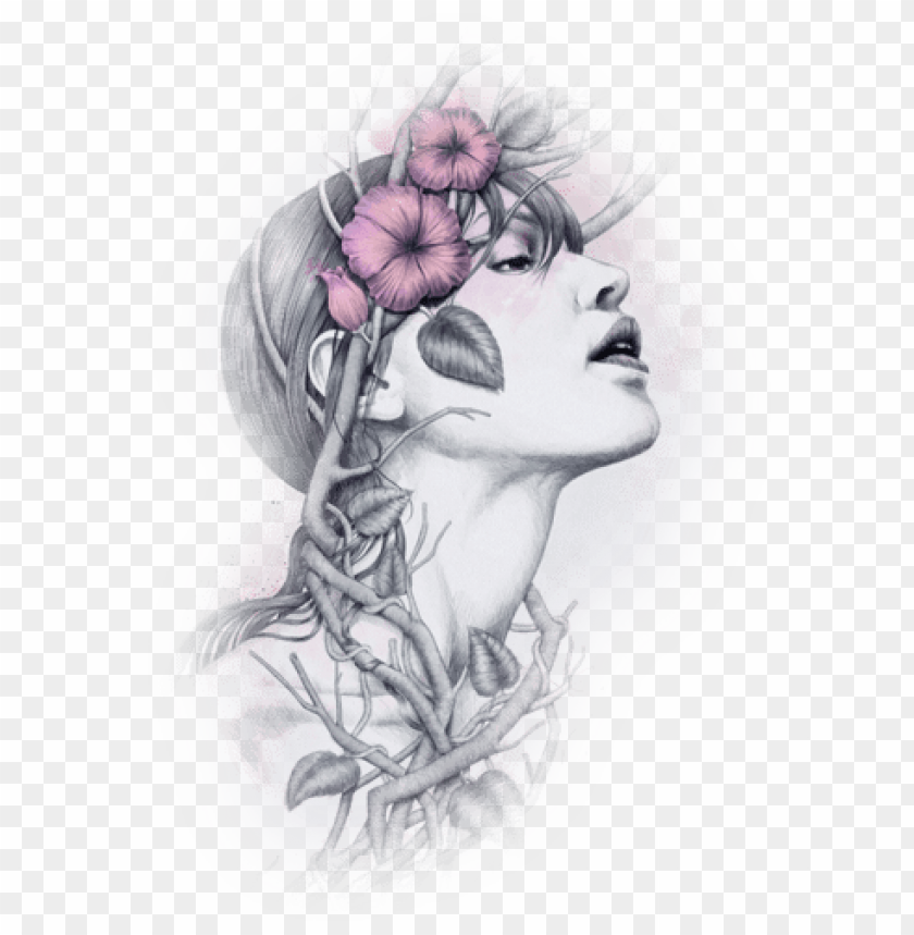 free PNG face pictures, woman silhouette, female face, woman - woman in nature art PNG image with transparent background PNG images transparent