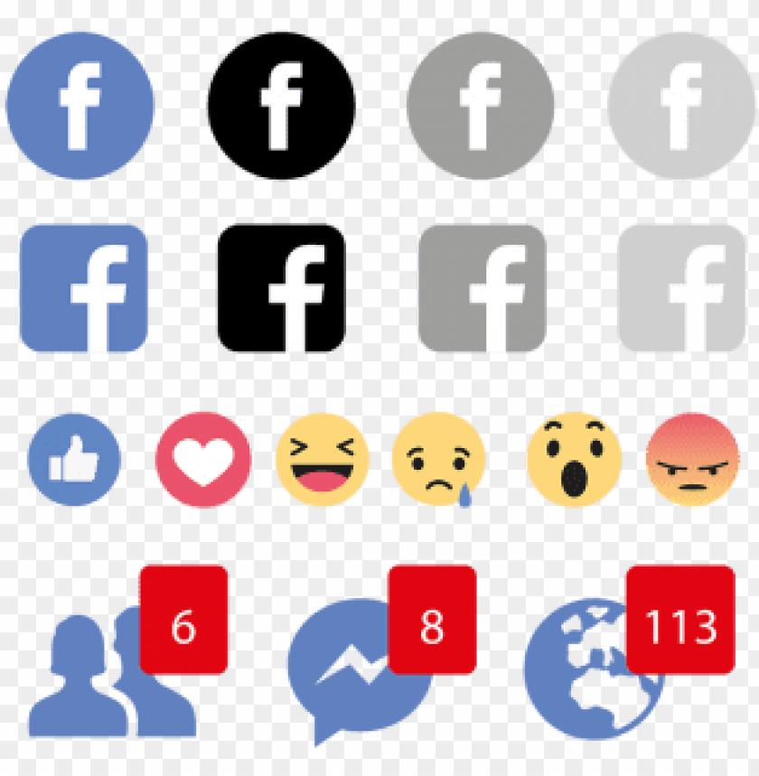 free PNG facebook emojis icon logo, social, media, icon  - find us on facebook icon png - Free PNG Images PNG images transparent