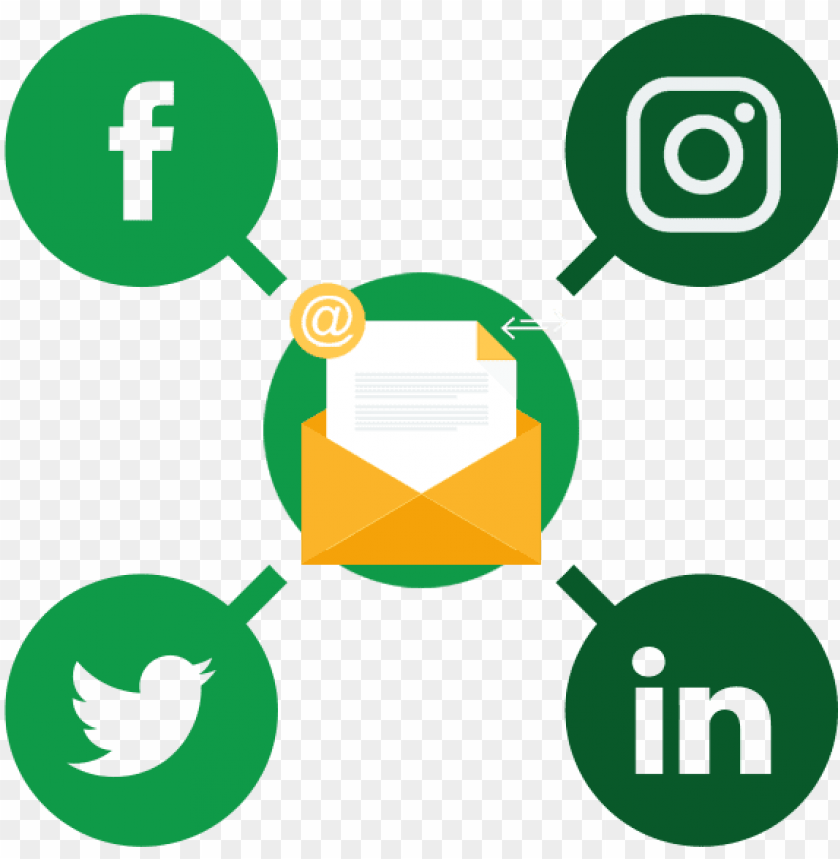 free PNG facebook, instagram, linkedin and twitter icons - social media management icon png - Free PNG Images PNG images transparent