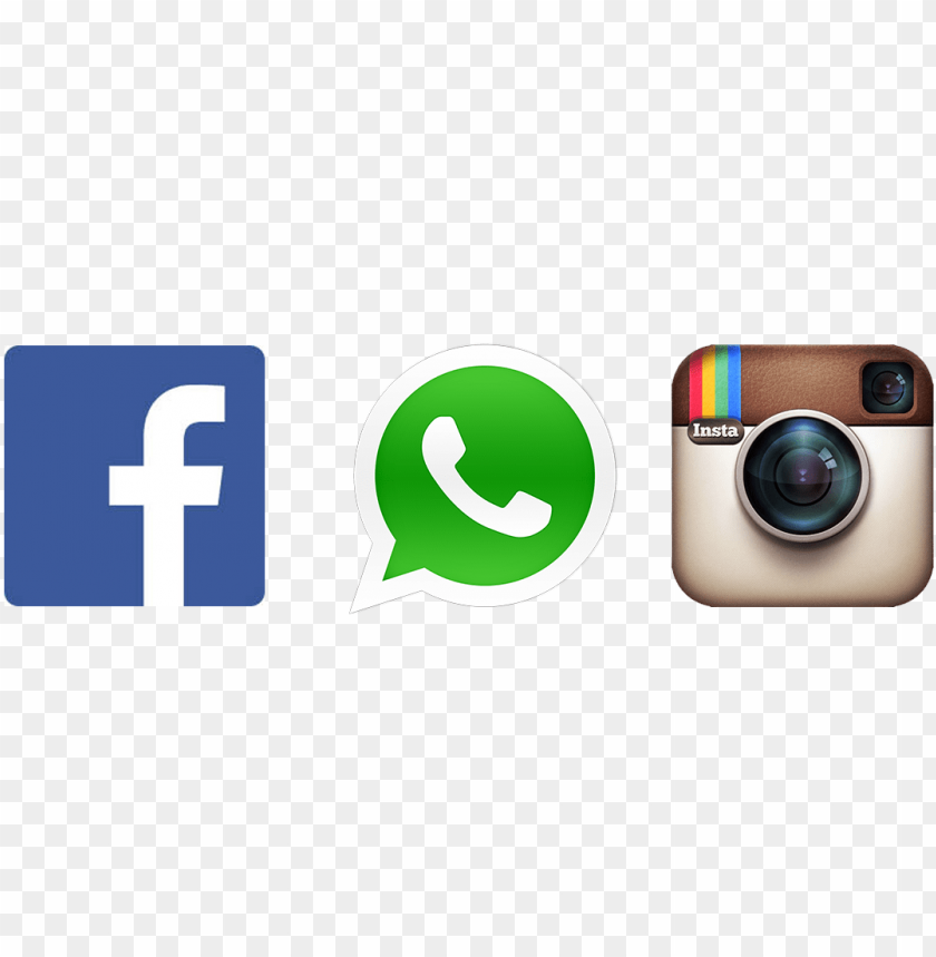 free PNG facebook instagram twitter icons  free- whatsapp icon png - Free PNG Images PNG images transparent