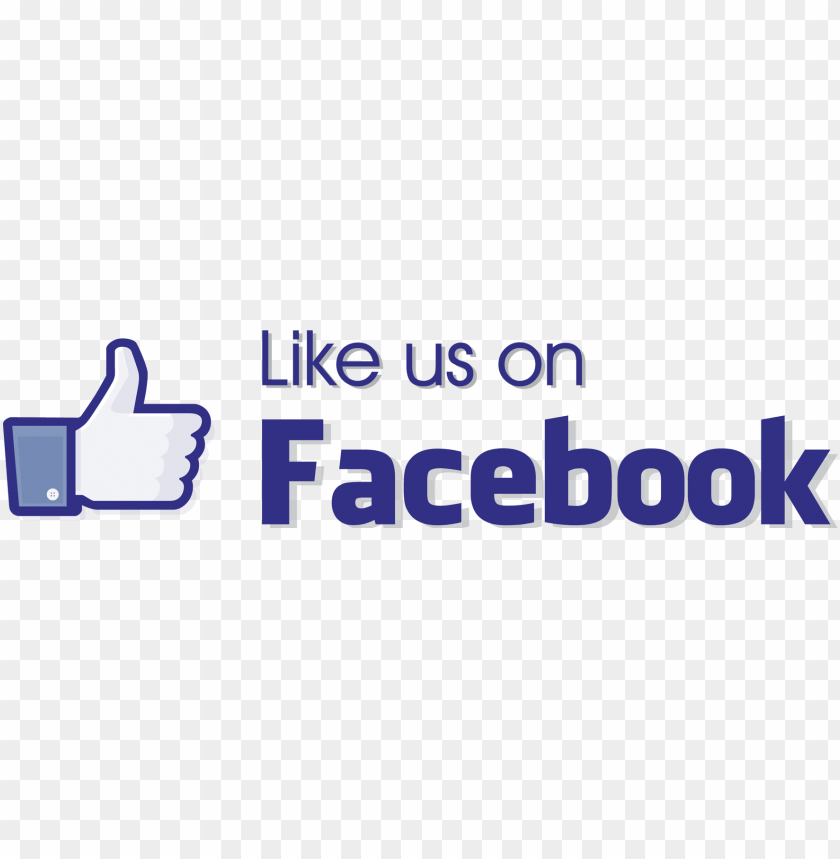 free PNG facebook like button  logo - like us on facebook icon png - Free PNG Images PNG images transparent