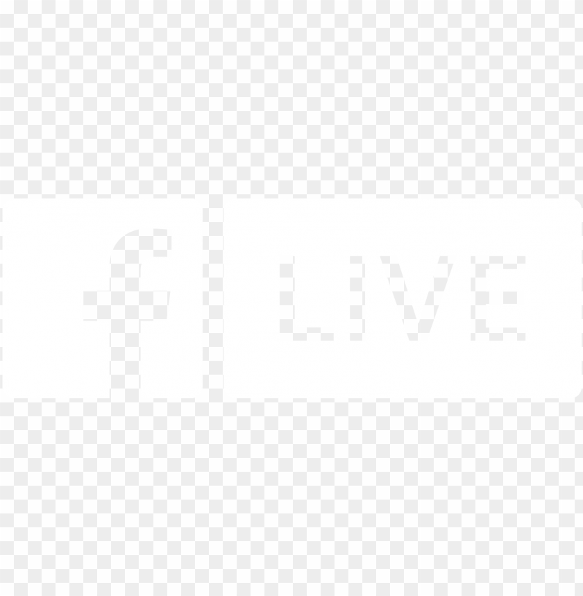 facebook live logo - facebook live logo black and white PNG image with transparent background@toppng.com