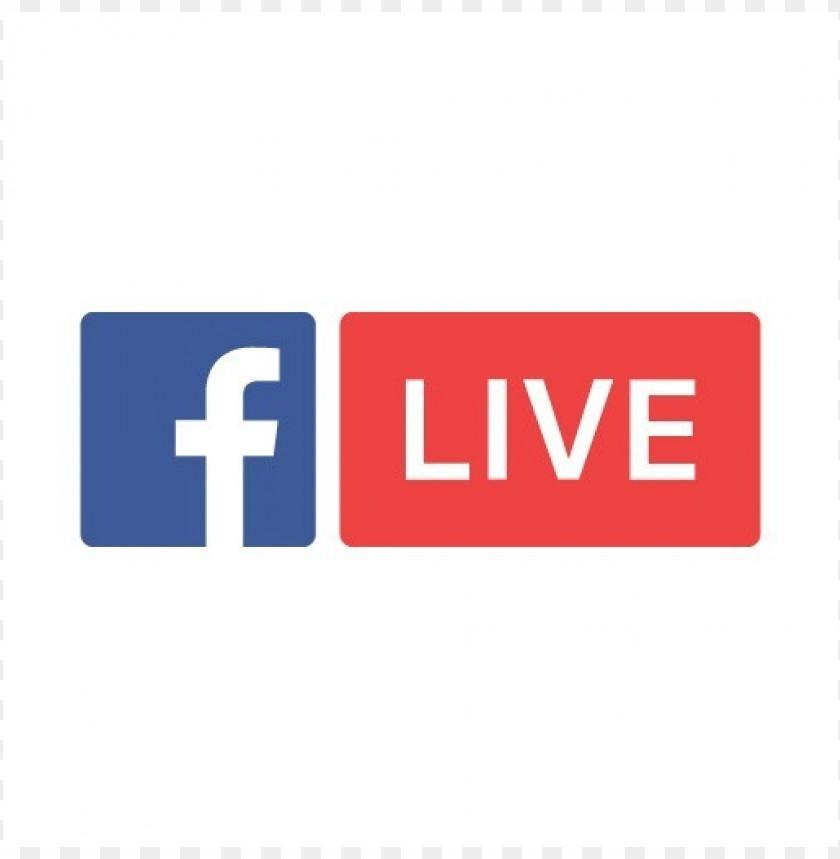 free PNG facebook live logo vector download PNG images transparent