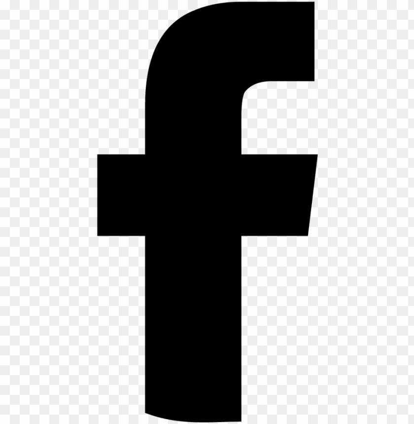 facebook logo black - facebook f icon sv PNG image with transparent background@toppng.com