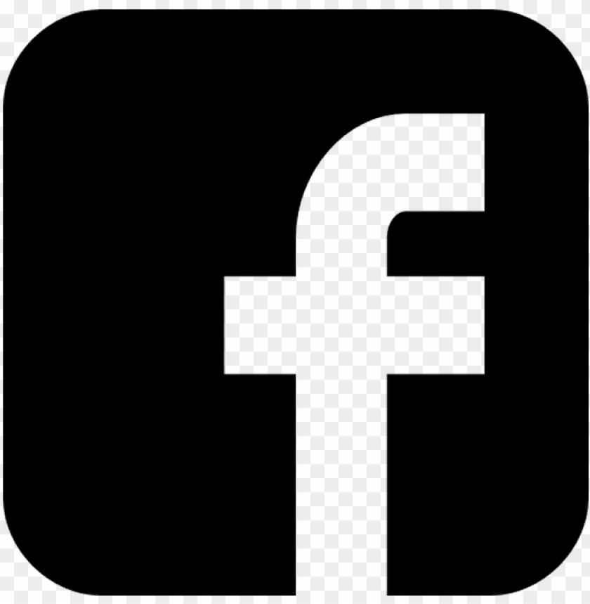 free PNG facebook logo png transparent image - facebook logo black PNG image with transparent background PNG images transparent