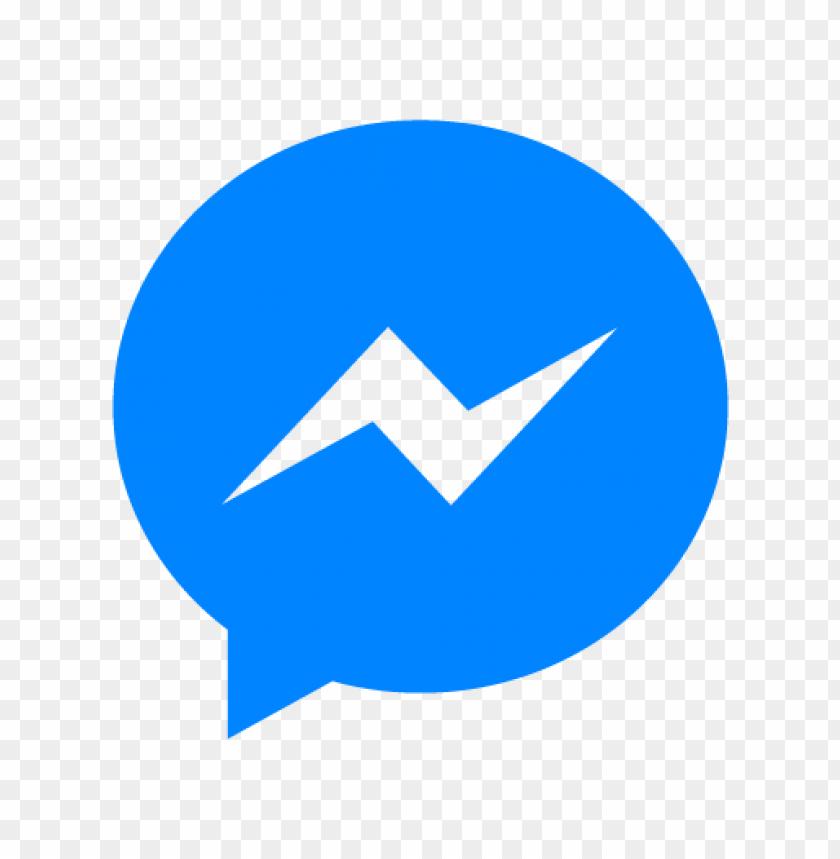 free PNG facebook messenger logo vector PNG images transparent