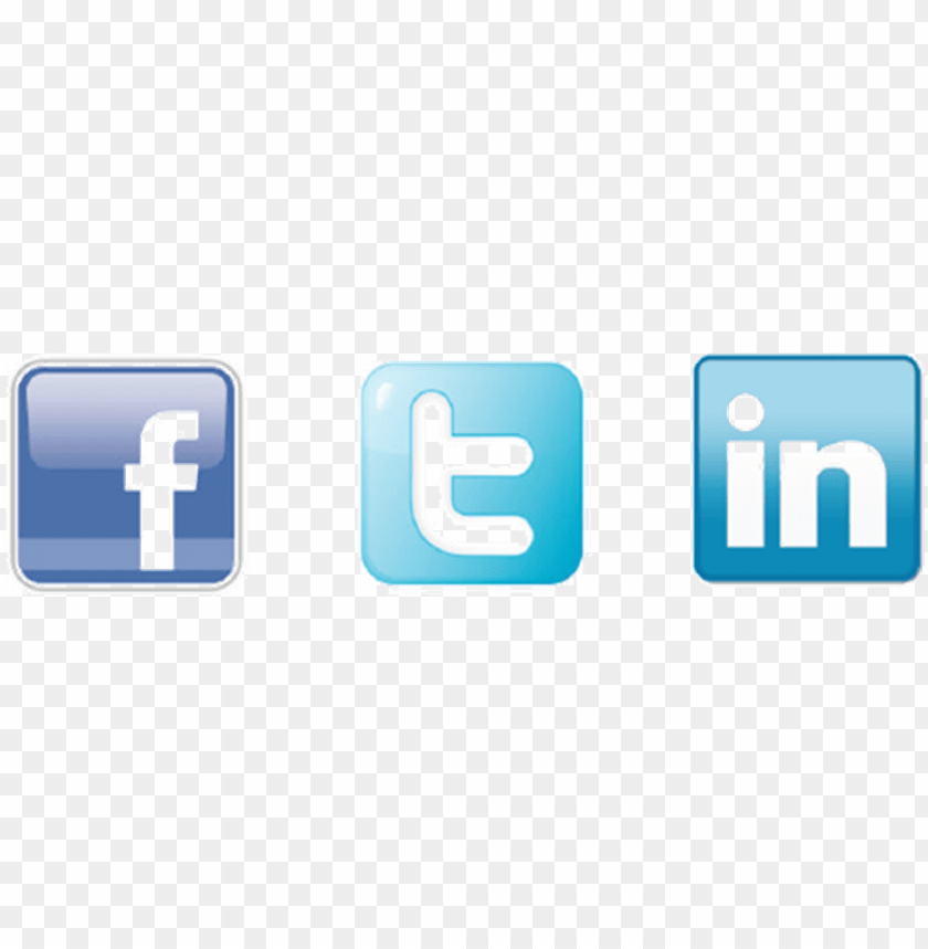 free PNG facebook twitter linkedin icons - facebook twitter linkedin icons PNG image with transparent background PNG images transparent