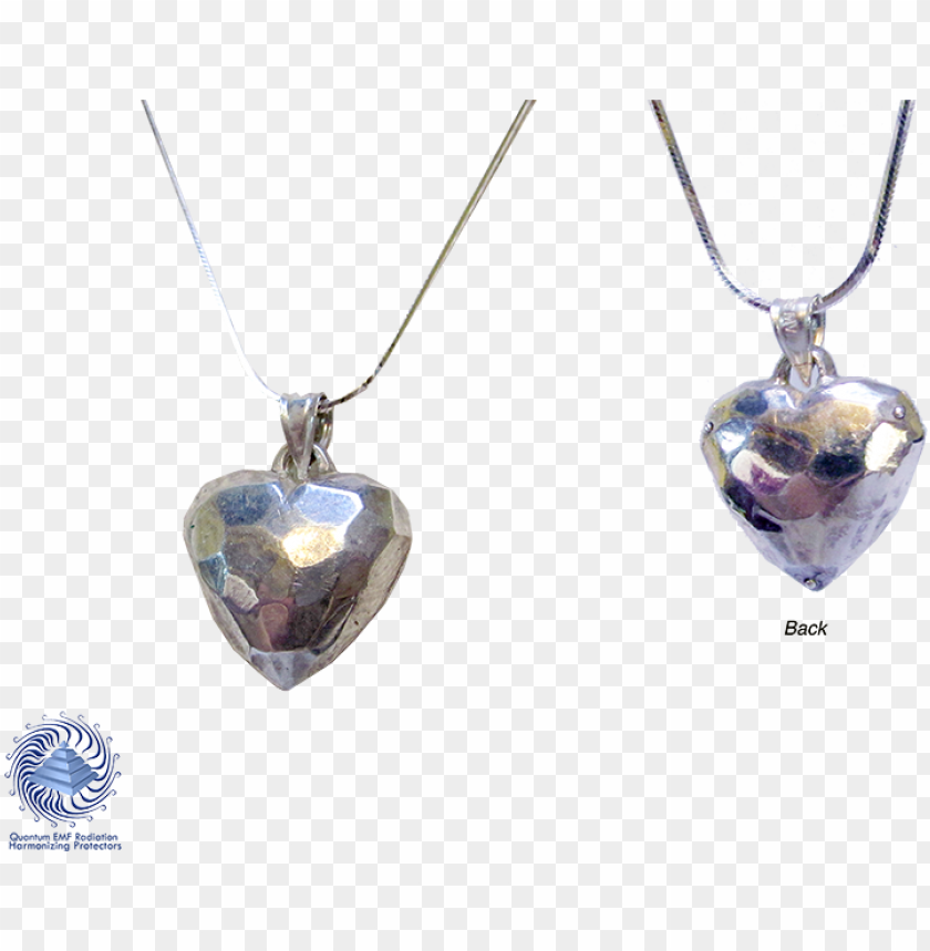 free PNG faceted live heart pendent 925 ag silver 20 x 25 mm - silver PNG image with transparent background PNG images transparent