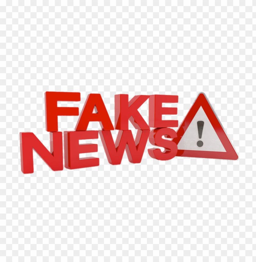 free PNG fake news ! 3d PNG image with transparent background PNG images transparent