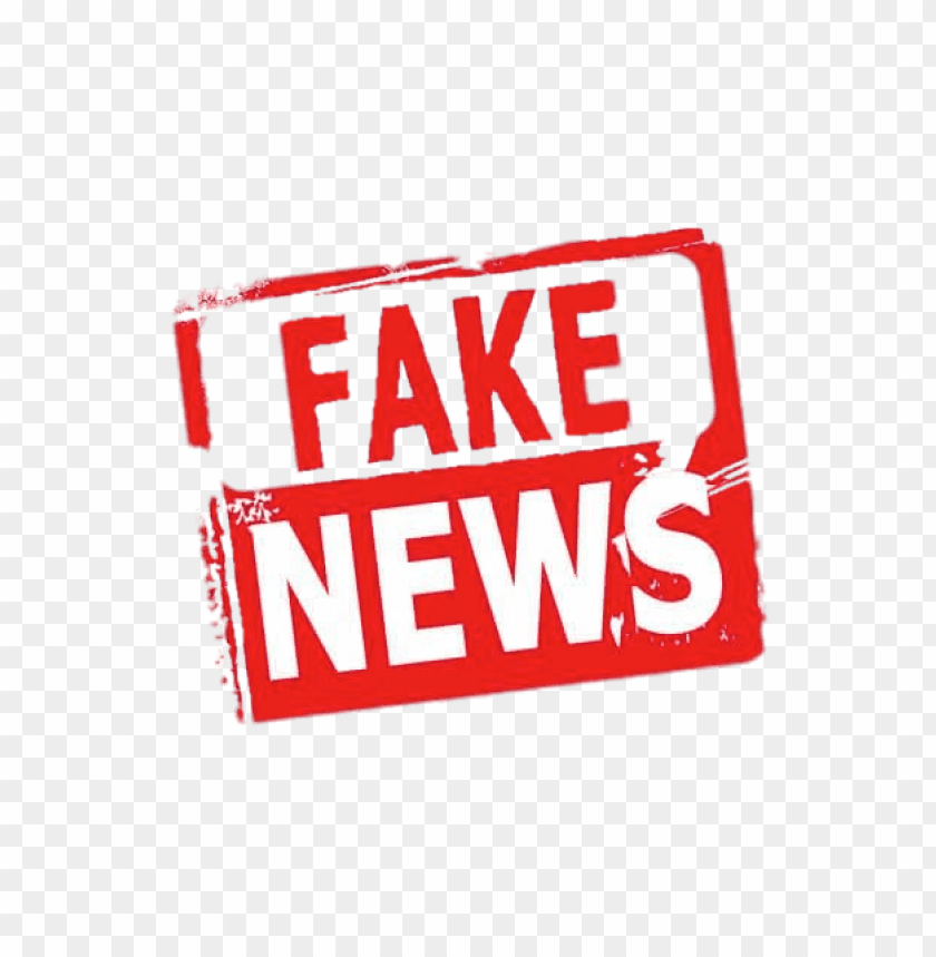 free PNG fake news red and white PNG image with transparent background PNG images transparent