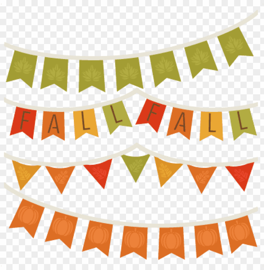 free PNG fall banners svg cutting file for scrapbooking autumn - fall banner clipart PNG image with transparent background PNG images transparent