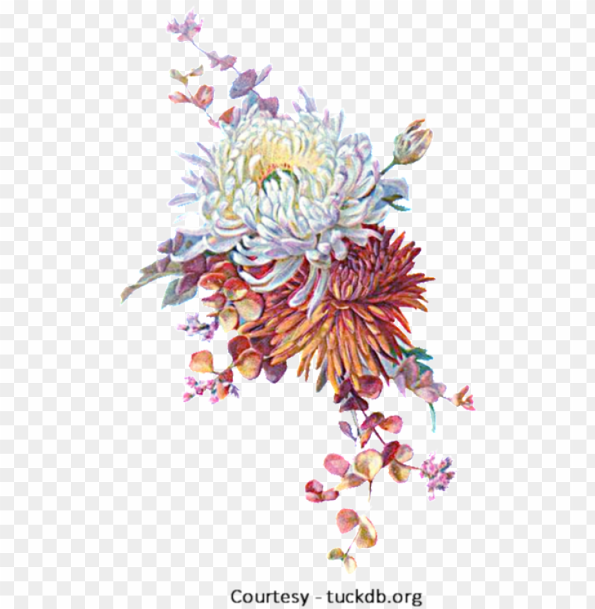 autumn flowers png fall flowers a - autumn flowers vintage png image with