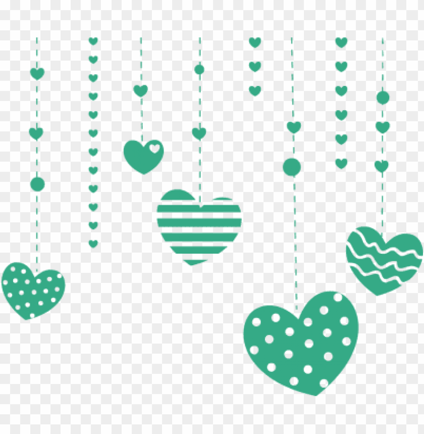free PNG falling heart cliparts - heart polka dot PNG image with transparent background PNG images transparent