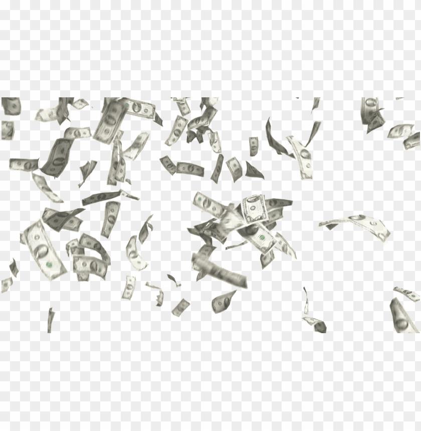 free PNG falling money png image transparent background - money falling white background PNG image with transparent background PNG images transparent