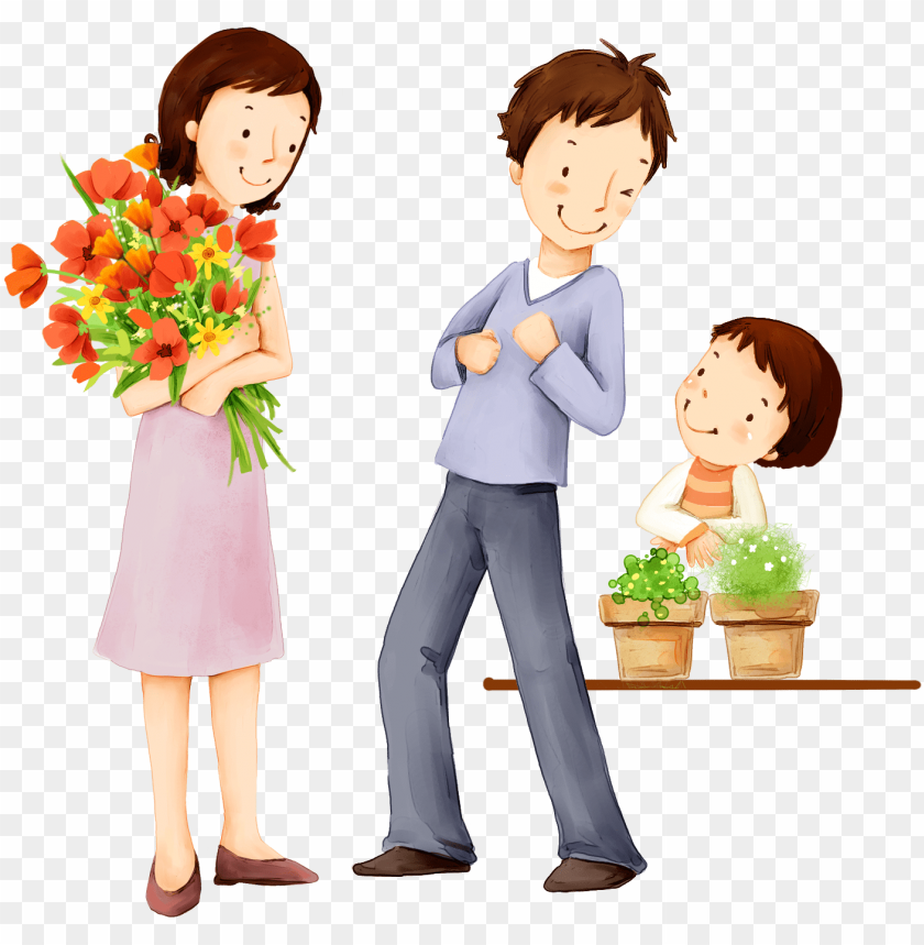 free PNG family cartoon PNG image with transparent background PNG images transparent