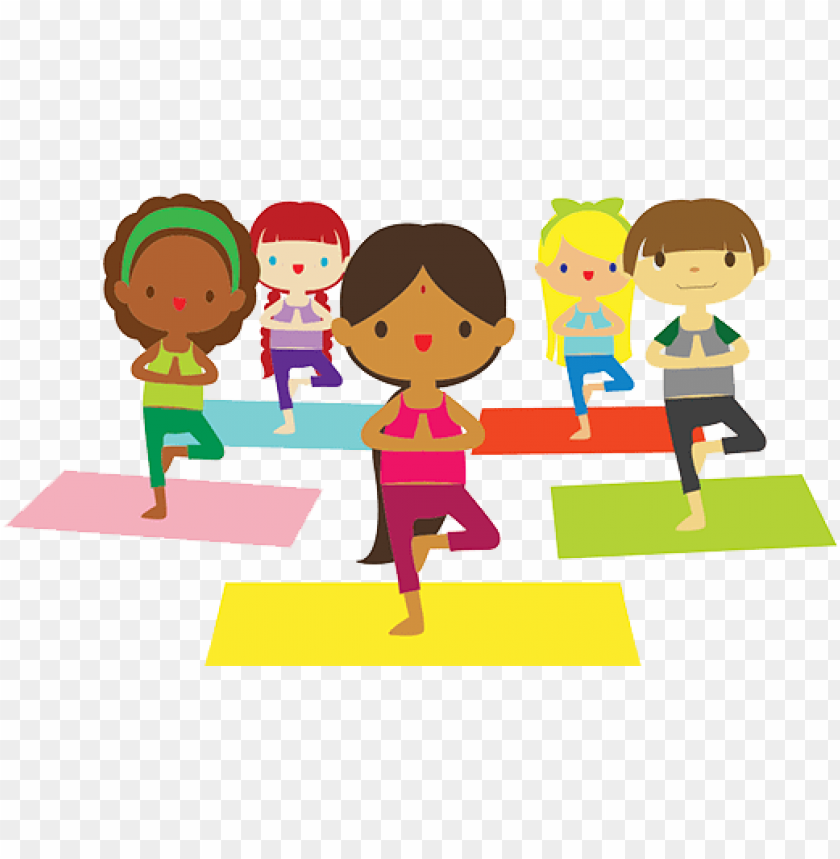 Family Clipart 0 0 Yoga With Randi Jo Yoga Kids Clipart Png Image With Transparent Background Toppng