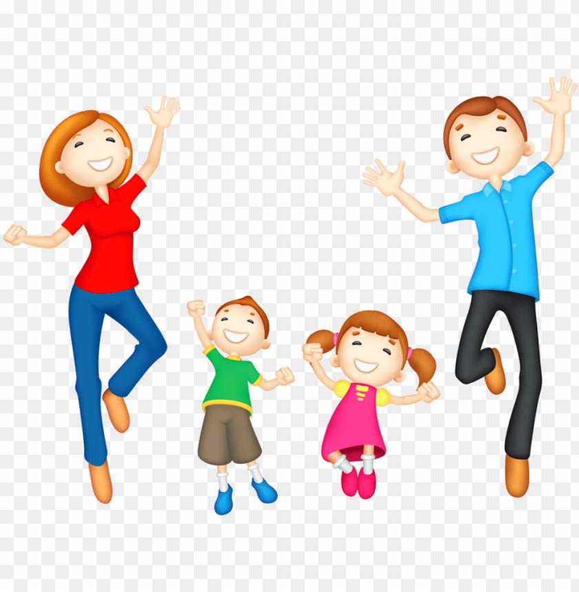 A Muslim Family With Five Children Are Celebrating Ied Mubarak in 2020   Muslim  family, Family cartoon, Islamic cartoon