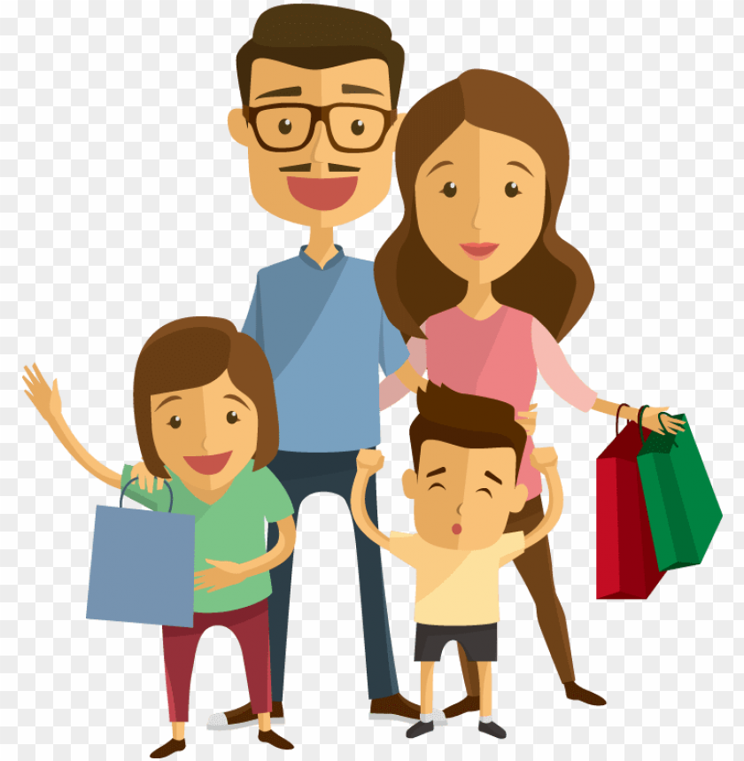 free PNG family euclidean vector scalable vector graphics illustration - family shopping PNG image with transparent background PNG images transparent