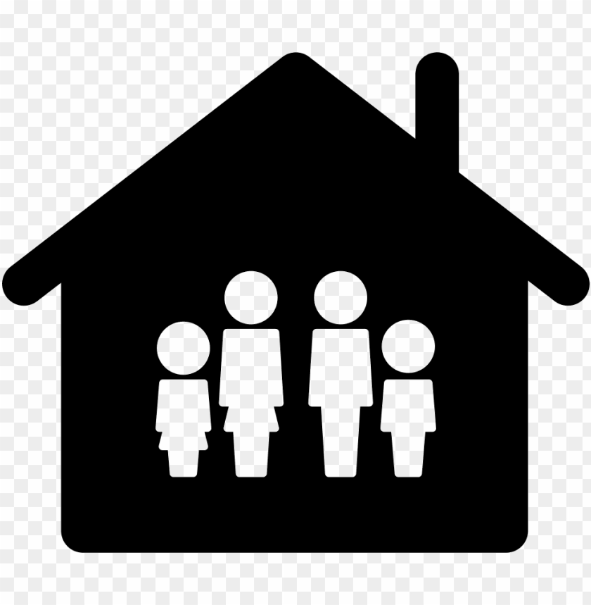 free PNG family home icon free family icon house - family home icon png - Free PNG Images PNG images transparent